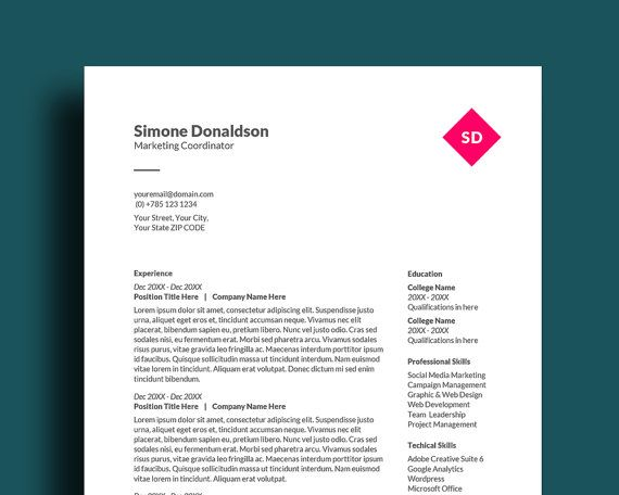 40 best Resume Templates images on Pinterest Sales resume - pages resume templates free