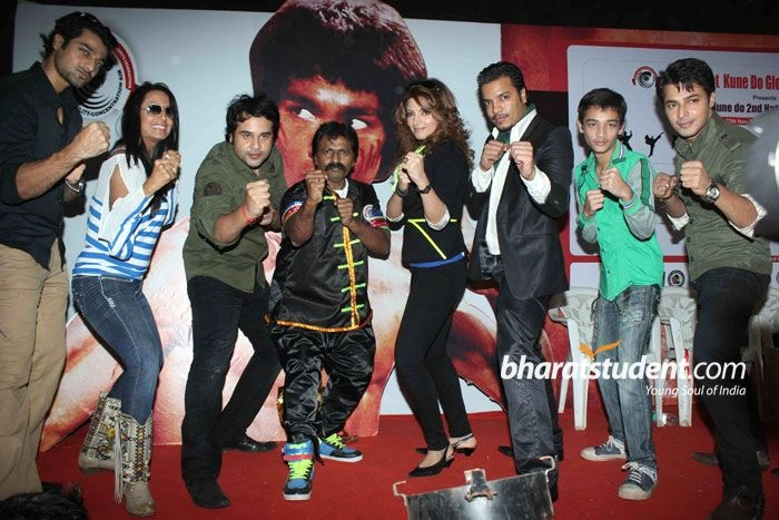 Bruce Lee's 72nd Birth Anniversary, Yajness Shetty, Krushna Abhishek, Kashmira Shah, Shama Sikander, Hanif Hilal, Bruce Lee