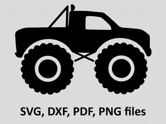 Truck Svg Monster Truck Svg Boy Truck Svg Truck Dxf Etsy In 2021 Monster Trucks Monster Truck Art Monster Truck Party
