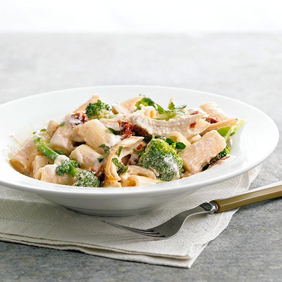 Chicken-Broccoli Mac and Cheese