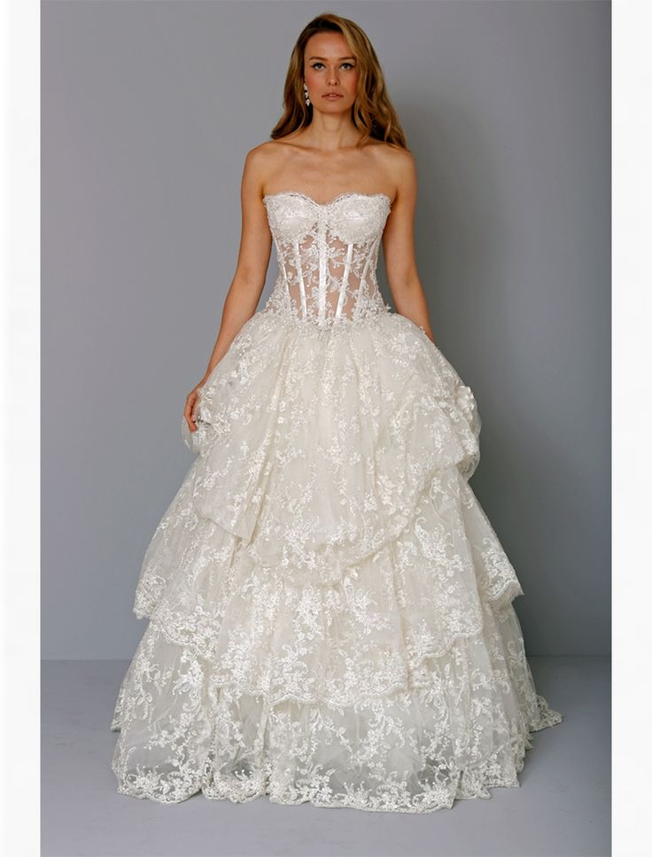 68 Best Wedding Pnina Wedding Dress Images On Pinterest