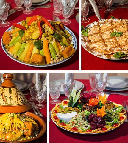 Venez assister chaque mercredi & vendredi au diner spectacle et fantasia de Chems Ayour à Agadir avec au menu de la pure gastronomie Marocaine.