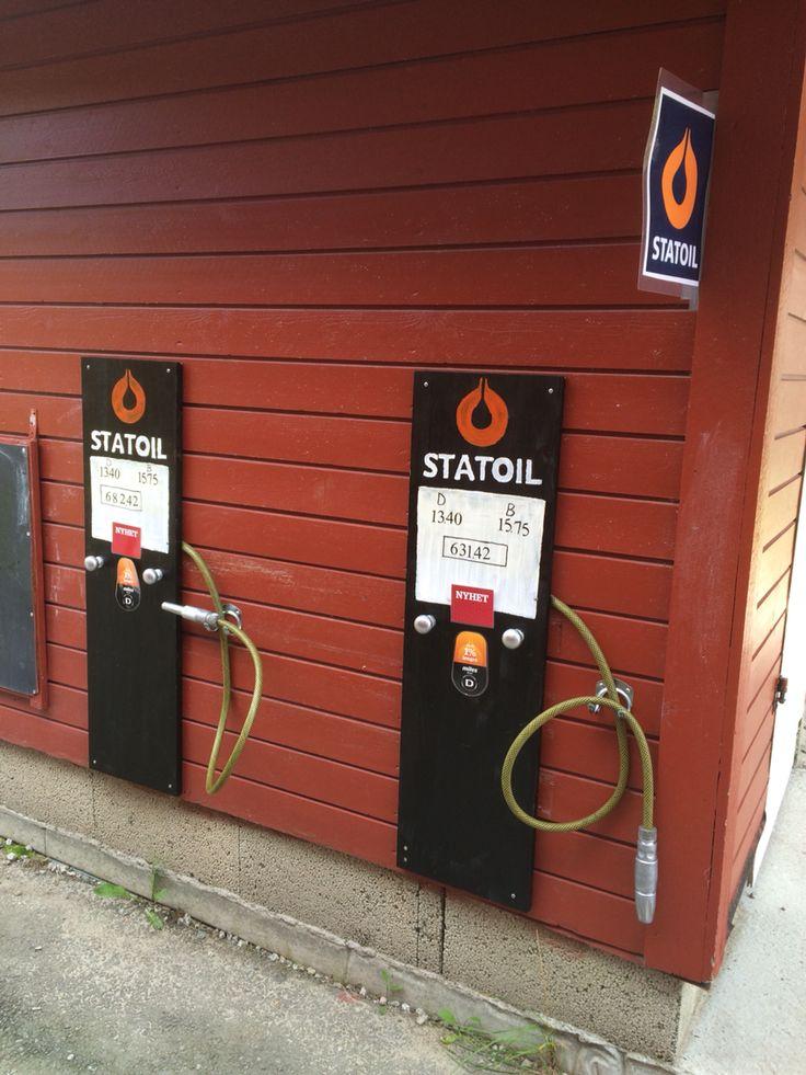 #bensinstasjon #barnehage