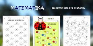 Matematika – pracovné listy pre druhákov