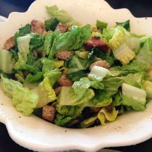 Best of Bridge Ceasar Salad Recipe (including dressing)