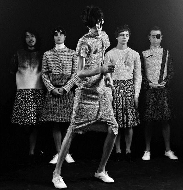 Deerhunter, a rock band