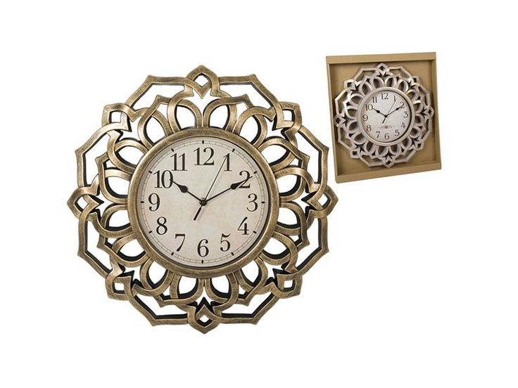 #reloj de pared 45cm 15.95 € geometrico dorado https://www.catayhome.es/categoria/relojes/