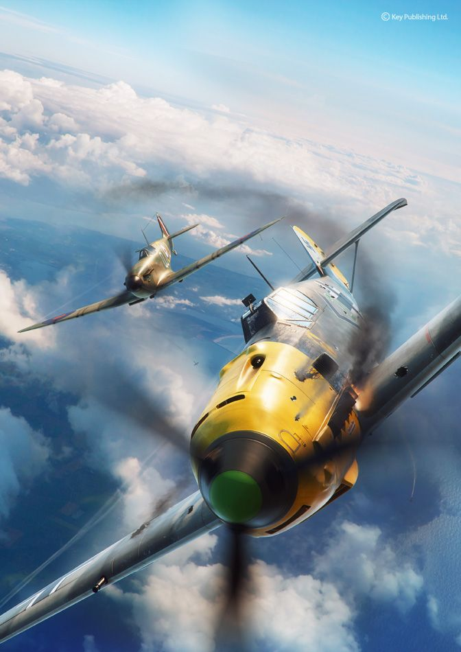 """Check out this @Behance project: """"Battle of Britain combat"""" https://www.behance.net/gallery/46774137/Battle-of-Britain-combat"""