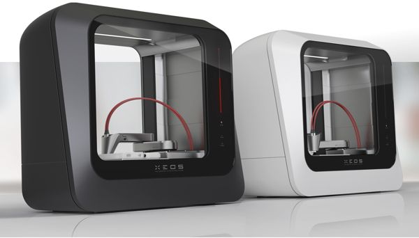 XEOS 3D - The desktop 3D-printing revolution by Stefan Reichert, via Behance