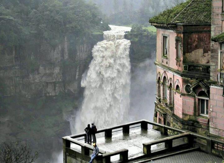 Tequendama Waterfalls, Bogota, Colombia. —