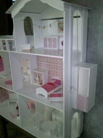 Casita De Muñecas Barbie.superxxl*4 Pisos*con Ascensor!1,50m - $ 5.999,00