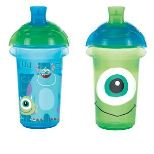 Mojo loves these!  Monsters - Monsters Click Lock™ Spill Proof Cup - Munchkin