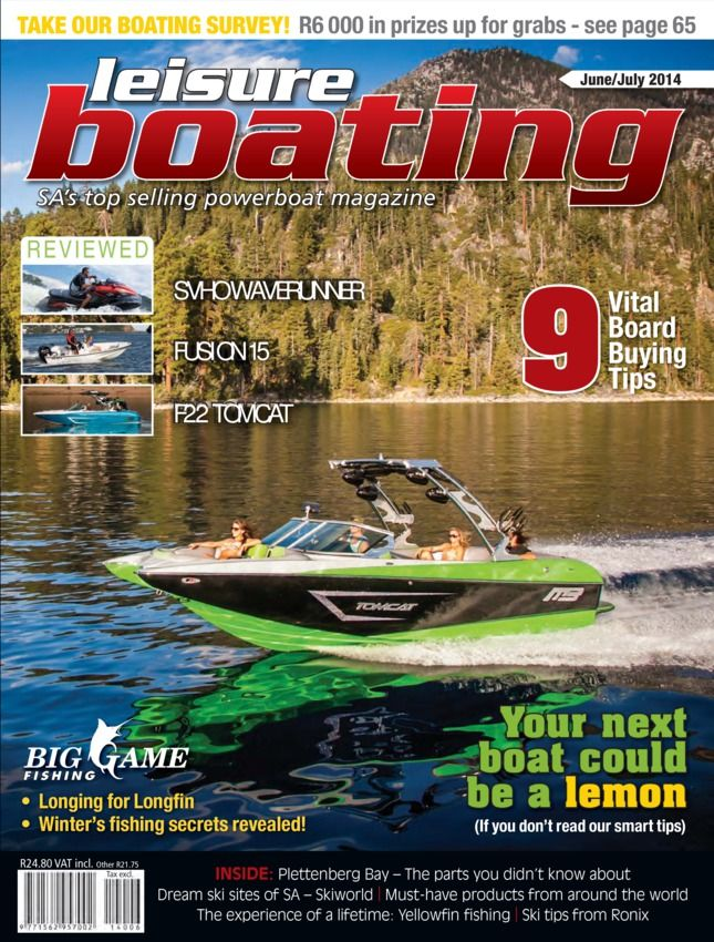Leisure Boating Featuring Big Game Fishing  Magazine - Buy, Subscribe, Download and Read Leisure Boating Featuring Big Game Fishing on your iPad, iPhone, iPod Touch, Android and on the web only through Magzter