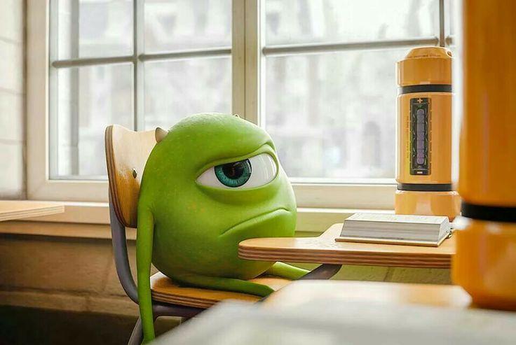 """Monsters University"" - Mike Wazowski"