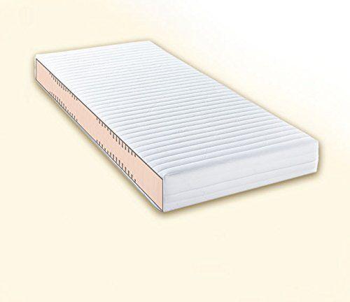 Doctorsleep medidoc 7 Zonen Kaltschaum/Comfortschaum Kern Matratze 17,5 cm mit Bezug - Medicott Größe: 120x210cm Härtegrad 2