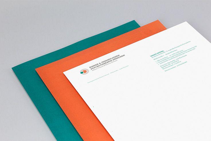 Kinderpsychotherapie Frömel & Steinert | #corporate #design #briefbogen