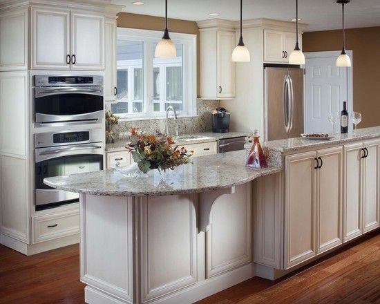 Galley Kitchen With Island At End 14 best cool table at end of island images on pinterest | kitchen