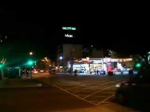 Santiago de noche,Chile