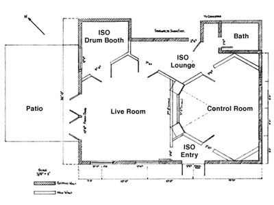 Electric canyon is made up of several rooms including a live room, control room, several booths, a lounge. We can comfortably fit large groups.