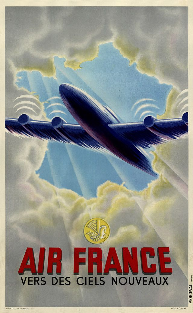 Poster Air France
