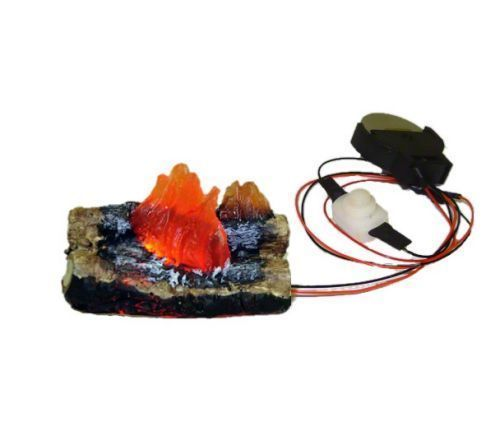 Battery-Flickering-Fireplace-or-Camping-Fire-Logs-1-12-Dollhouse-Miniatures