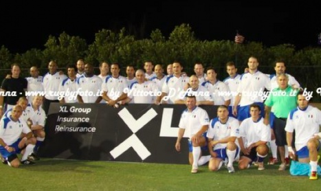 Rugby Italian Classic XV in campo per beneficienza