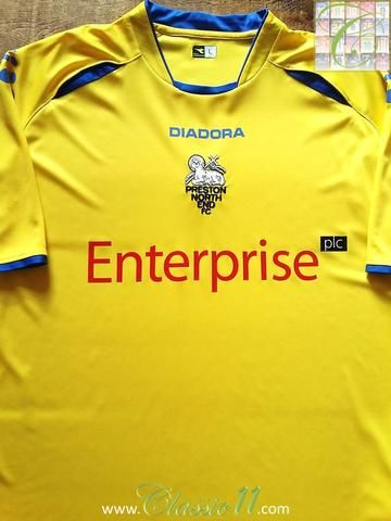Relive Preston North End's 2006/2007 season with this original Diadora away football shirt.