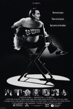 Ed Wood-- is a 1994 American biographical period comedy-drama FILM directed and produced by Tim Burton, and starring Johnny Depp as cult filmmaker Ed Wood. The film concerns the period in Wood's life when he made his best-known films as well as his relationship with actor Bela Lugosi, played by Martin Landau.