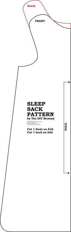 Sew an Easy Baby Sleep Sack | The DIY Mommy