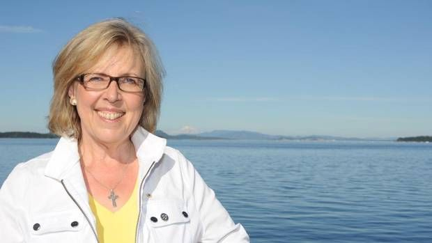 Elizabeth May on our elected representatives: 'We are a democracy only in theory' - The Globe and Mail