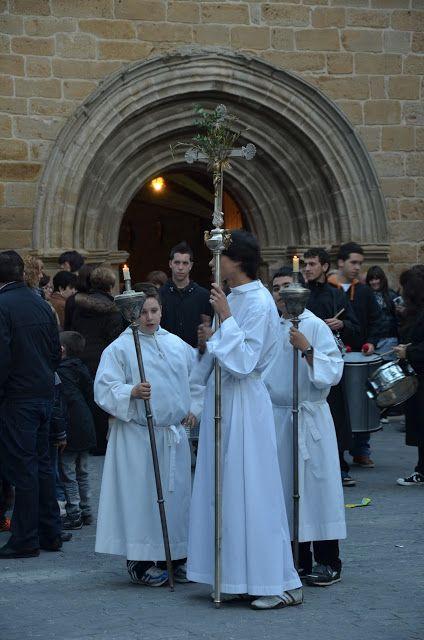 Santacara: Procesion Viernes Santo - Año 2012