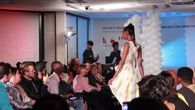 This is the Art Institute of Charlotte first designer fashion show directed by Michelle Mitchell and Amber Mancino