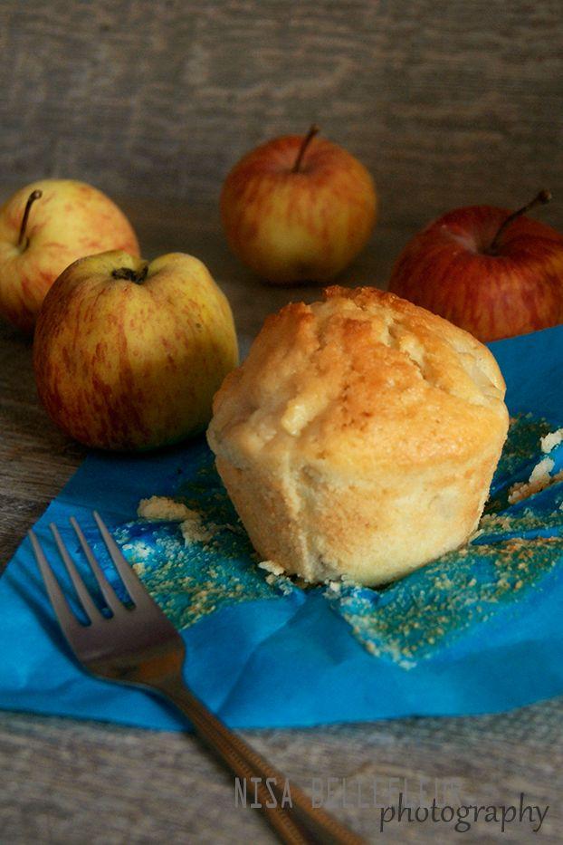 Muffins de manzana