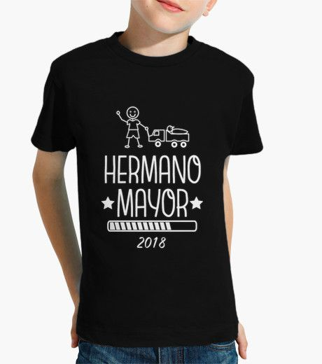 Camiseta Hermano Mayor 2018 negro