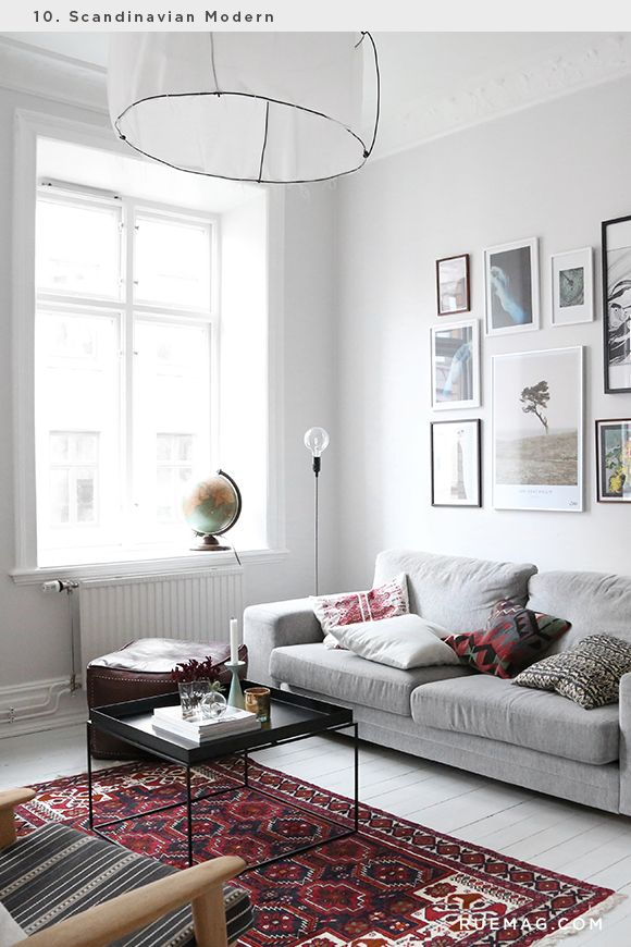 Identifying 12 of the most popular interior design styles scandinavian modern rue