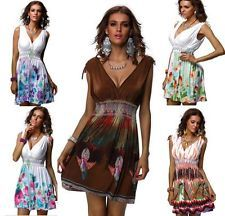 Size L-XXL 5 Color SEXY Spring Summer Woman Extra  Party Gown Dress