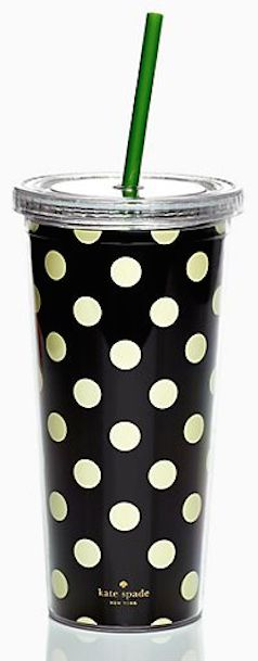 travel in style with a Kate Spade travel cup http://rstyle.me/n/fag2rr9te