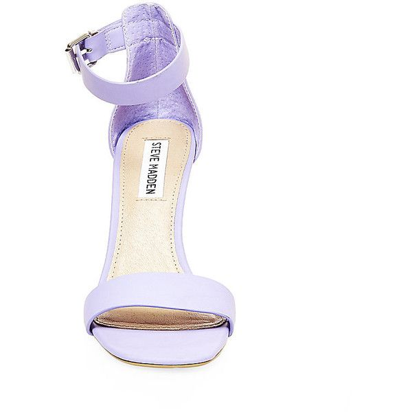Steve Madden Women's Bayyside Heels ($80) ❤ liked on Polyvore featuring shoes, pumps, lavender, dress shoes, stiletto pumps, lavender shoes, synthetic shoes and steve-madden shoes