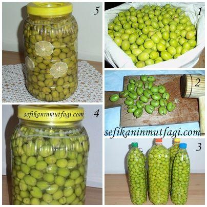 kırma yeşil zeytin yapımı