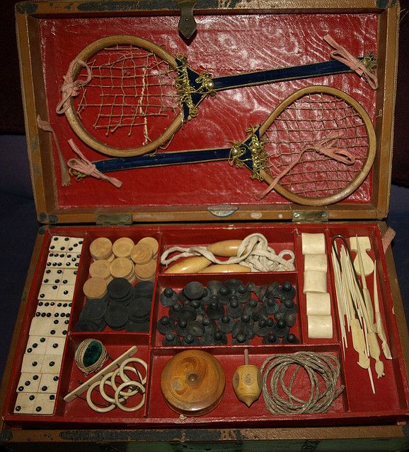 1800's Victorian Game Trunk--Rare! by Azure and Rai's Twisted Art Photography, via Flickr