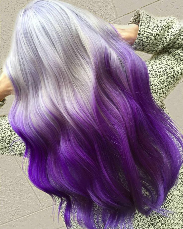 @taylorrae_hair created this ICY VIOLET ❄️?perfection by using VIVIDS Smo…
