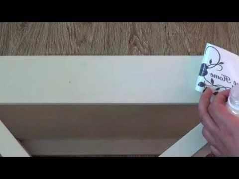 Видео по вживлению распечатки или мордой в лак. - YouTube