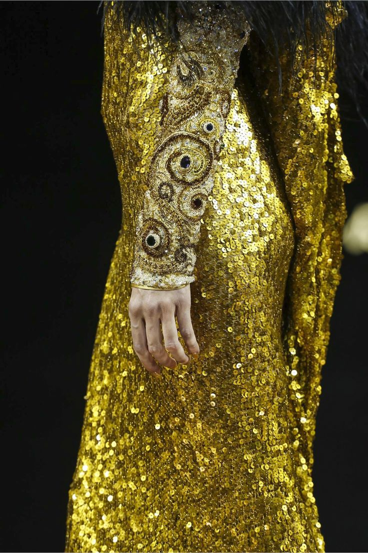 Guo Pei at Couture Fall 2016 (Details)
