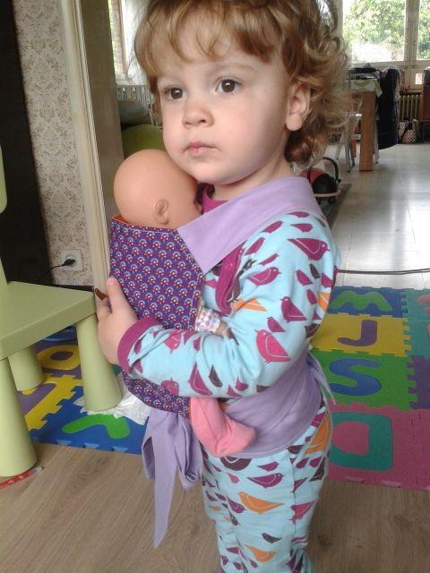 Draagdoek voor poppen