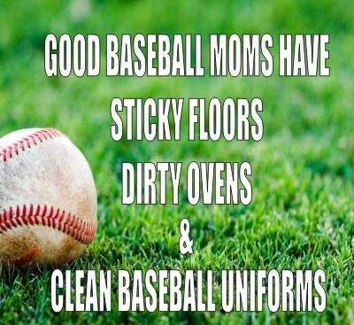 Yes!!!!!!!!! Baseball mom