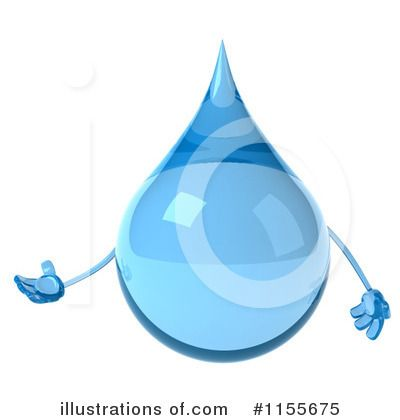 Royalty-Free (RF) Water Drop Clipart Illustration by Julos - Stock ...