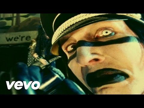 Music video by Marilyn Manson performing The Fight Song. (C) 2000 Nothing/Interscope Records