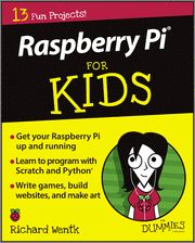 #Raspberry #Pi For #Kids For #Dummies makes it easy for kids to set-up, operate, and troubleshoot like a Pi pro! Introducing you to Pi through a series of entertaining and inspiring projects, this handy, step-by-step #guide shows you how to write #computer #games, build #websites, make art and music, create #electronic #projects, and much more!