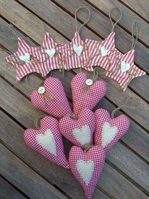 Cuori e stelle by countrykitty, via Flickr