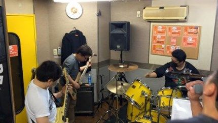 俺が初めて組んだ高校時代のバンドが27年ぶりに復活!最初のスタジオ入り!